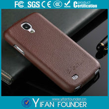 Handmade leather cell phone case for samsung galaxy 4