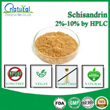 GMP Factory Supplied 2%-10% Schisandrins by HPLC