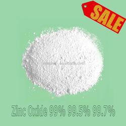 Price of Zinc oxide ZnO 99.5% ZnO 99.7%