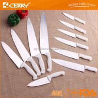 Commercial kitchen knife with plastic PP handle