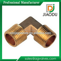 """1/4"""" or 1/2'' brass fitting hose barb 90 degree elbow for pex pipes"""