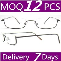 2015 hotsell fake reading glasses fashion halfrim glasses frames reading stock small order available