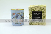 Good selling soy scented candle /resin pillar candle in bulk