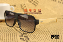 MZYJ00131 new style top fashion Bamboo wooden sunglasses,promotion cheap wood sun glasses made in china