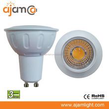 ce rohs dimmable 6w cob mr16 gu10 led spotlight