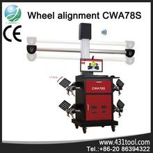 multi-language CWA78S machine aligment wheels
