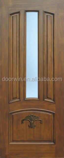 High quality teak wood double door design buy wood door for Quality door design