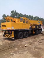 originally used hydraulic Kato NK500E-V mobile / truck crane 50ton