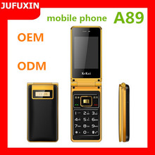 A89 2.8inch GSM 900/1800/Dual sim card dual standby/FM/GPRS /Bluetooth/ multi language/TF card made in india mobile phone