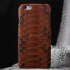 Handmade leather case for iphone 6 plus/Real Snake Leather Case Cover/Mobile Phone Case for iPhone 6 plus