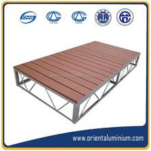 china professional aluminum pontoon floats