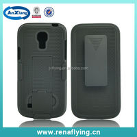 high quality kickstand i-pattern holster combo cover for Samsung S4 mini