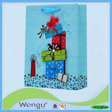 Hot new products for 2015 China online shopping bags for gift package ,paper bag supplier and manufacture
