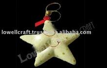 estrella de navidad colgante