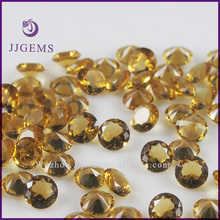 faceted 7mm round china glass stone
