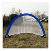 Steel wire oxford poly mesh football soccer goal