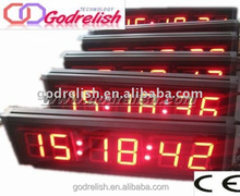 Multifunctional current time atomic clock long time warranty