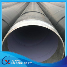 internal epoxy powder coated saw carbon steel pipe for gas / oil pipe