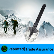 Multifunctional Shovel for outdoor digging shovelling cutting , camping outdoor tactical shovel gear