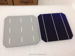 Grade A B 2BB 3BB mono poly multi crystalline 125x125mm 156x156mm 5/6 inch solar cell/solar wafer/solar panel from 3.5W-4.7W 15%