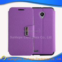 china wholesale soft tpu pu leather cell phone cover for Vodafone Smart prime 6 VF-895N case