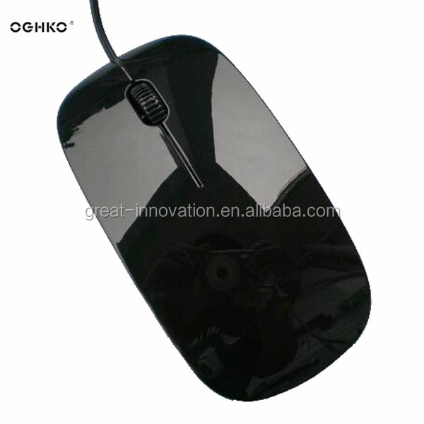 Super flat/slim cheap wired mouse