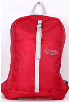OEM service women red oxford travel bag lightweight water resistance tourist backpack