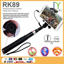 NICL RK 89E Foldable Aluminium selfie stick, channel selfie stick with cable