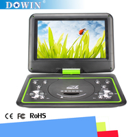 manufacture wholesale guality cheap flat screen HD Hot Sale Cheap 10.1 inch Portable DVD Player &SD Card Port with VGA port
