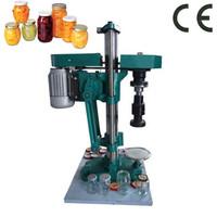 Semi-automatic glass bottle cap close machine| bottle cap machine