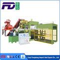 Qt10-15 automático del bloque de hormigón que hace la máquina