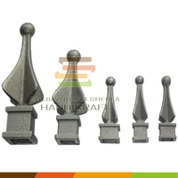 Fence Finial Toppers Iron Casting Spears