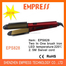 Hot Selling 26MM and 30MM All In One Hair Flat Iron and Hair Curling Iron 110-240V EPS828