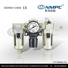 SMC Type air filter regulator and lubricator AC3000-03 combination, 3/8 inch air filter and regulator & lubricator