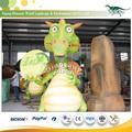 escultura de dinosaurio JingShang Exportador para los compradores Zoo Animal Modelo