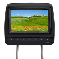 Brand New Black 7 inch LCD Touch Buttons Headrest Car Slave Monitor