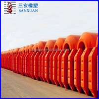high buoancy light weight hdpe dredging poly float