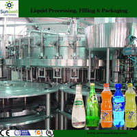DXGF24-24-8 Auto CO2 Contained Soft Drink Water Filling machinery
