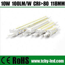 SMD 118mm 10W r7s led lamp replace halogen lamp 22mm diameter