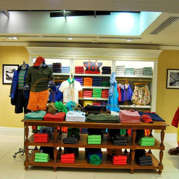 Top End Shop Furniture Garment Display/retail Garment Shop Interior ...