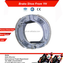 Brake Shoe Factory Supply Good Quality C100 BIZ Brazil Motorcycle Parts Manufacturer