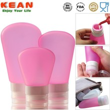 Travel Size Toiletries/silicone bottle holder/carry-on bottle&out door bottle