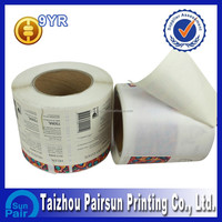 adhesive paper sticker,adhesive label stickers
