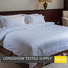 Cotton sateen bed sheet sets for hotel use