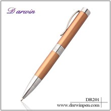Stationary product customized twist pen metal hotel ball pen