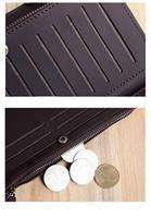 человек натуральной кожи бумажник мягкой воловьей кожи мужчин деньги клипы бизнес банка держателя кредитной карты монета для портмоне кошельки мужчин