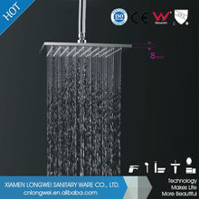 Unique design high quality Stainless steel 304 rainfall shower faucet