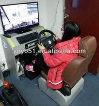 Driving simulator technology used computers electrical equipment indoor sports equipment