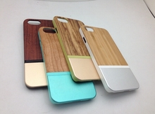 Whoesale Best Price Metal Wood For i Phone Case Cover 6 6 Plus