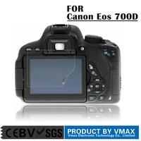 Factory price!3-layer full body high clear matte scratch-resistant screen protector for CANON 70D 700D camera